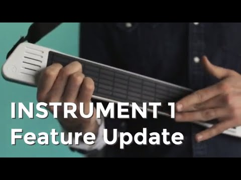 Artiphon INSTRUMENT 1 Feature Update – February 2018 – String Muting & Volume Knob Mapping