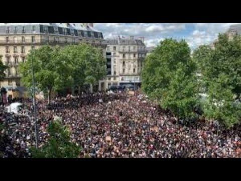 Paris Black Lives Matter March June 13