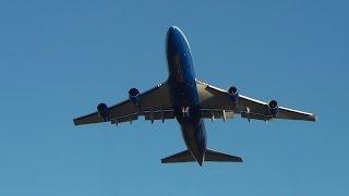 19x heavy aircraft a380s b747s a340s b777s a330 takeoff compilation i sydney airport