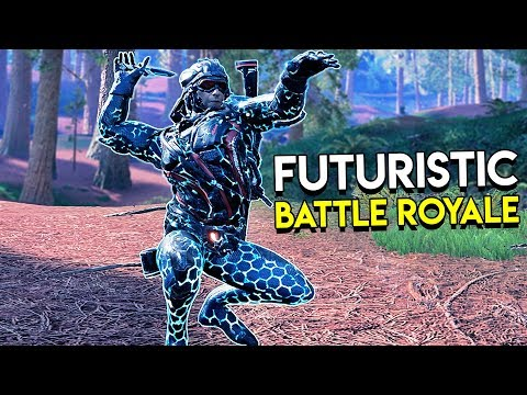 Futuristic Battle Royale - Islands of Nyne Duos Gameplay (Closed Alpha)
