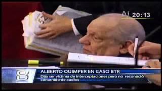95 - Caso Business Track - Quimper dijo ser victima pero no reconocio contenido de audios