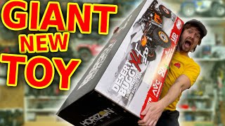 BiG new RC Car is a BEAST!