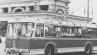 Видео клип троллейбусного парка