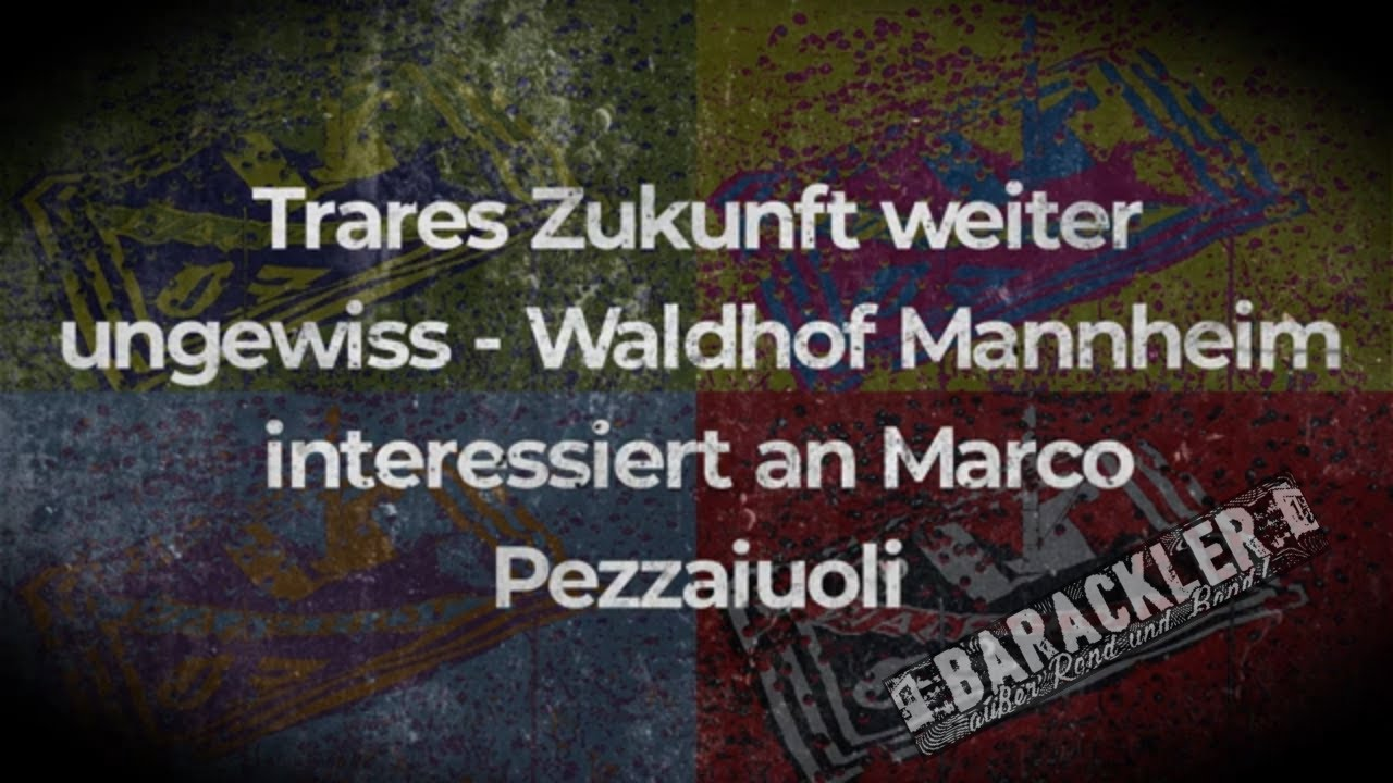 Trares zukunft ungewiss - Waldhof Mannheim interessiert an Marco Pezzaiouli