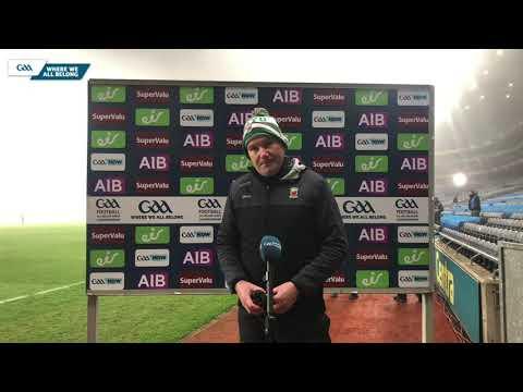 James Horan talks to GAA.ie