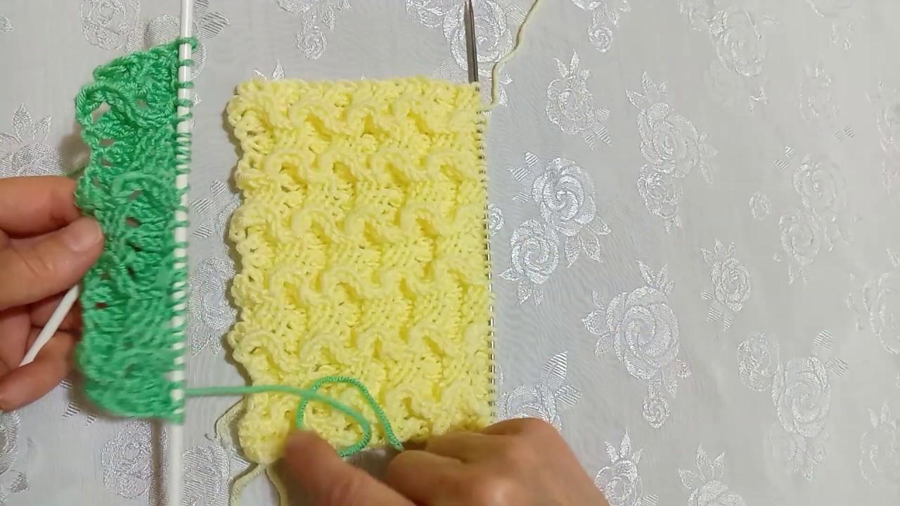 3 Boyutlu harika bir model #yelek #battaniye #kniting #kendinyap