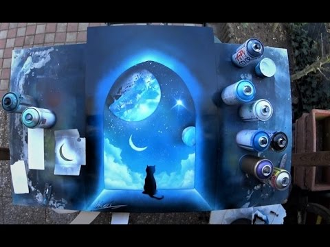 Spray Paint Art Mashpedia Free Video Encyclopedia