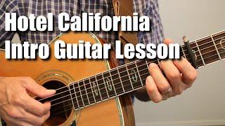 Hotel California Introduction Guitar Lesson Tutorial