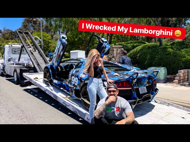 I WRECKED MY LAMBORGHINI MURCIELAGO AND WIFEY IS NOT IMPRESSED...