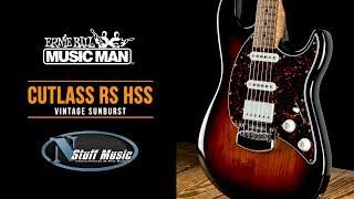 Cutlass RS HSS from Ernie Ball Music Man - In-Depth Demo!