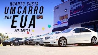 Quanto custa um carro usado nos Estados Unidos #episódio1