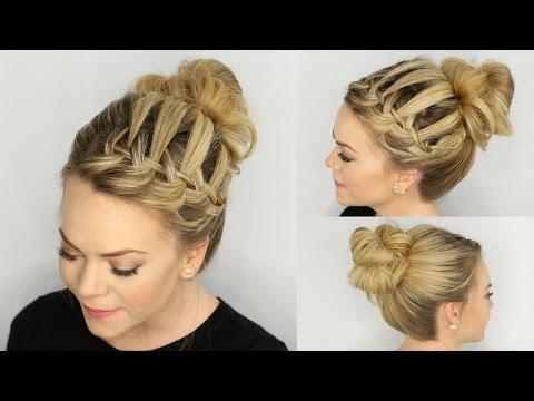 Hairstyles: Easy Waterfall Braid Tricks