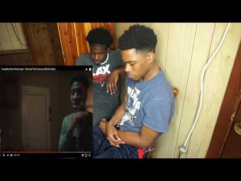 YoungBoy Never Broke Again - Diamond Teeth Samurai (Official Video) REACTION!!!!