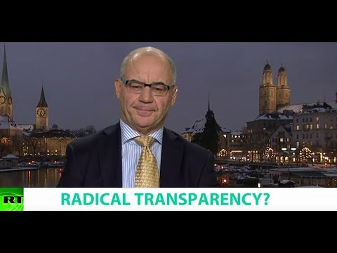 RADICAL TRANSPARENCY? Ft. Rudolf Elmer, Former Swiss Banker