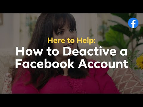 Here to Help: How to Deactivate or Delete a Facebook Account