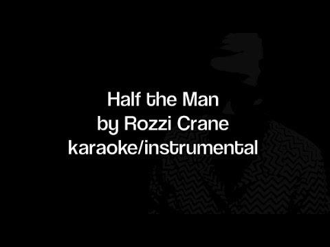 Half the Man - Karaoke / Instrumental