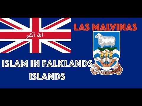 ISLAM IN FALKLANDS ISLANDS LAS MALVINAS II OFFICIAL DUA II الله أكبر