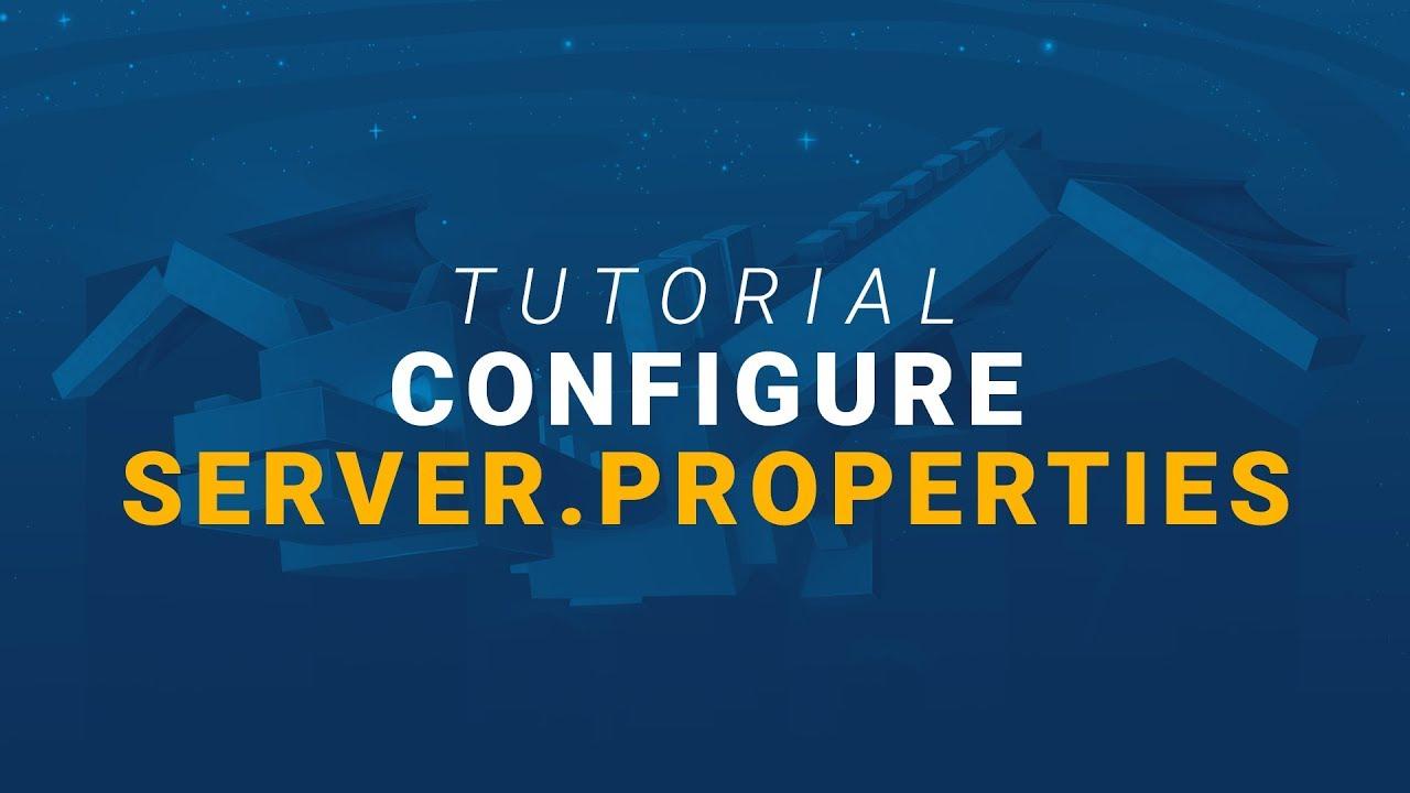 How to Configure Your Minecraft Server (server properties