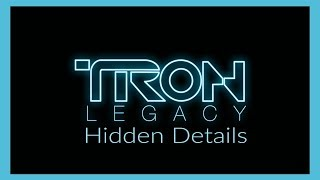TRON: Legacy - Hidden Details and Easter Eggs