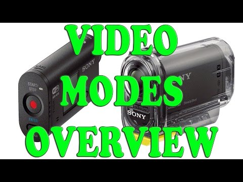SONY ACTION CAM HDR-AS20 VIDEO MODES SAMPLES