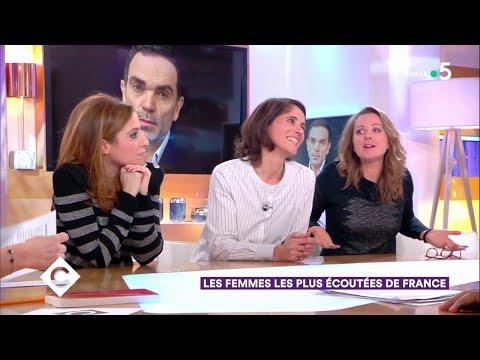 Les femmes les plus écoutées de France ! - C à Vous - 15/01/2019