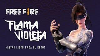 💜 ¡NUEVO TRAJE DE FREE FIRE: FLAMA VIOLETA! 💜