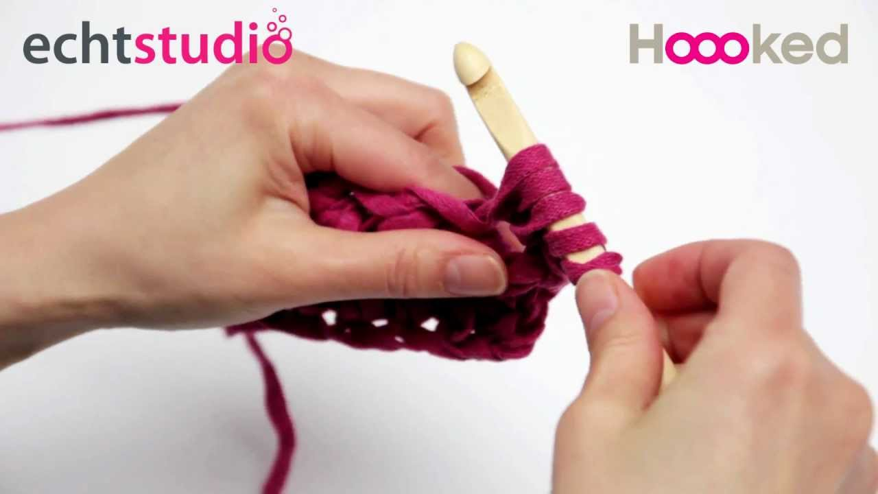 How to crochet puff stitch - YouTube