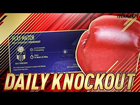 ⚽FIFA 18 LIVE ❤️ DAILY KNOCKOUT TOURNEY!!