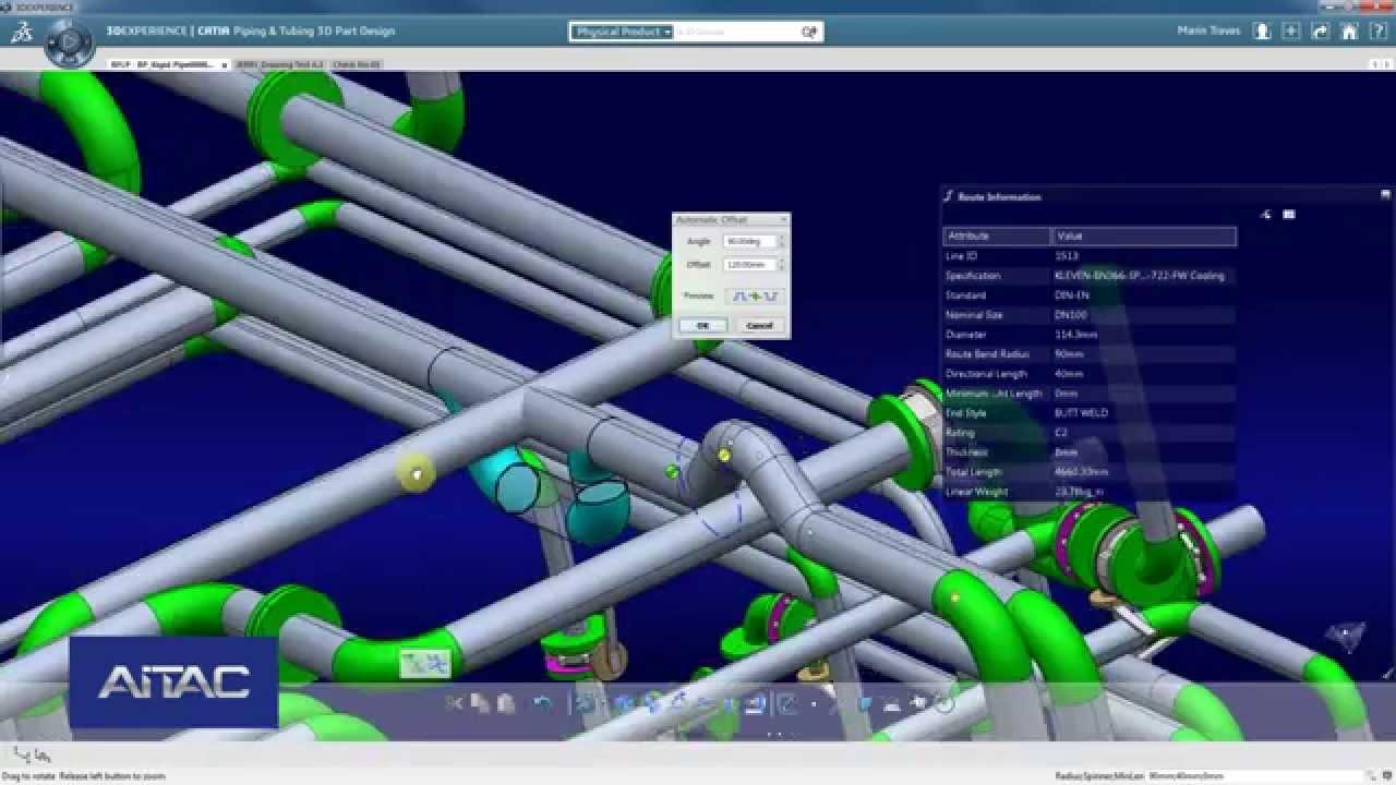 Elbow pipe design using catia v5 youtube.