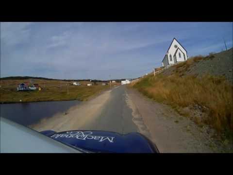 2016 Targa Newfoundland - English Harbour DNF