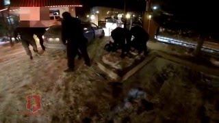 СОБР в Красноярске провел захват банды сутенеров (видео ГУМВД по Красноярскому краю)