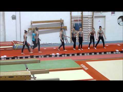 Team gym Découverte Féminite - A.G.Plérin