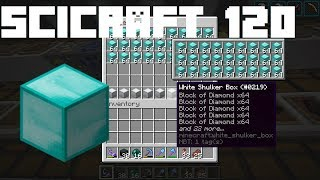 SciCraft 120: 103,000 Diamonds! Richest Minecraft Server?