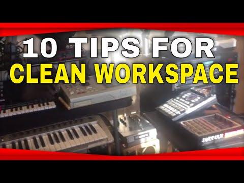 Top 10 Tips For Studio Organization | Pep Talk
