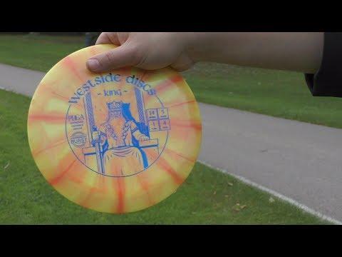 Westside Discs King VIP Tilted Sword VS. Tournament Burst Review