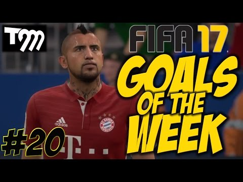 Fifa 17 - TOP 10 GOALS OF THE WEEK #20