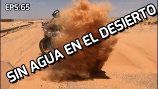 [#65] SIN AGUA EN EL DESIERTO - Vuelta al mundo en moto - TUNEZ