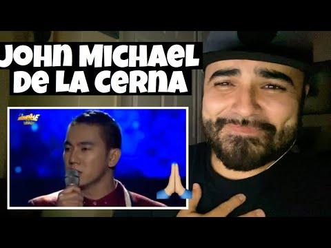 Reacting to John Michael Dela Cerna Hallelujah