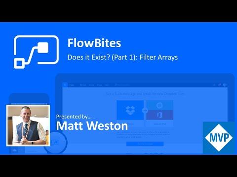 FlowBites: Does it Exist (Part 1) - Filter Arrays