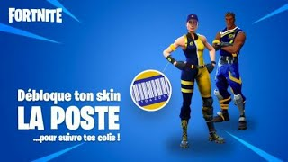 "HOW TO UNLOCK THE PACK OF SKINS ""THE POSTE"" FREE on FORTNITE... ✔"
