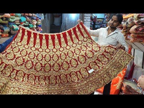 Cheapest Designer Lehenga In Chandni Chowk In Delhi ! Bridal & Designer lehenga !