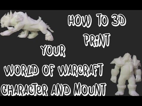 Here's a Simple Video Tutorial to 3D Print a World of