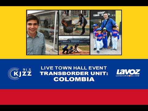 Live KJZZ Event | TransBorder Unit: Colombia
