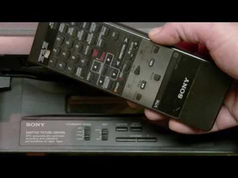 SONY SLV-920HF VCR Demo