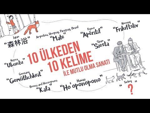 10 ülkeden 10 kelime ile mutlu olma sanatı