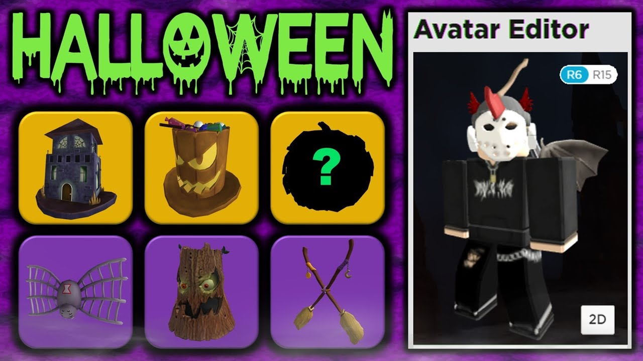 Roblox Halloween 2019 All Leaked Accessories So Far Youtube