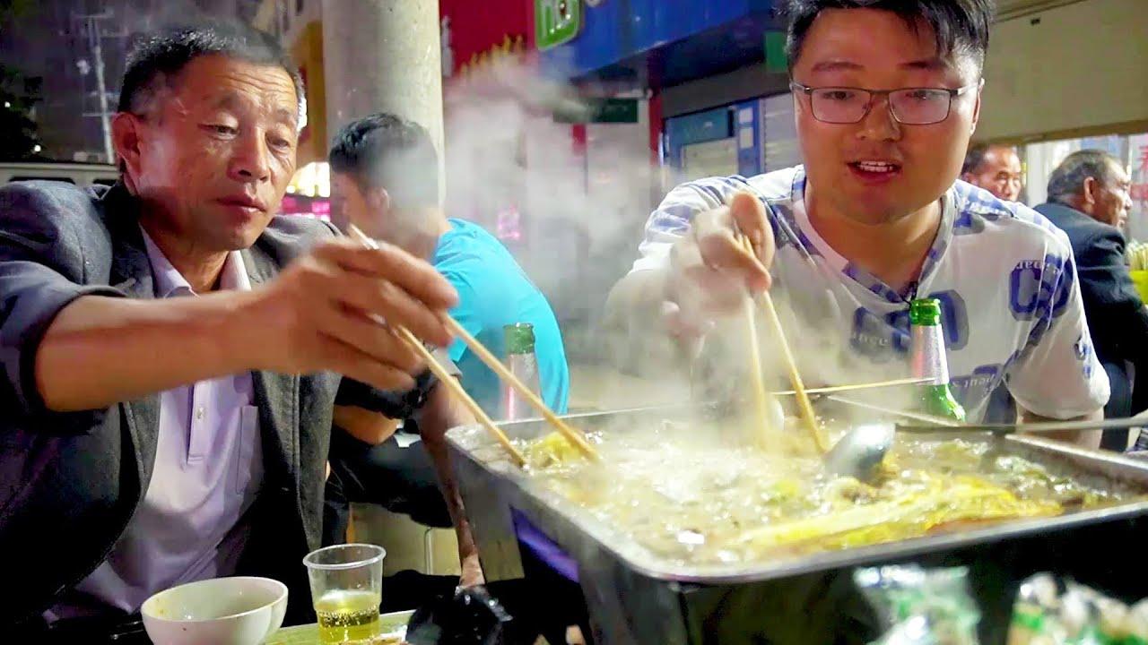 一家人一桌菜,大sao忙碌完一天,一片炭锅羊肉,都能激起幸福的味道!【徐大sao】