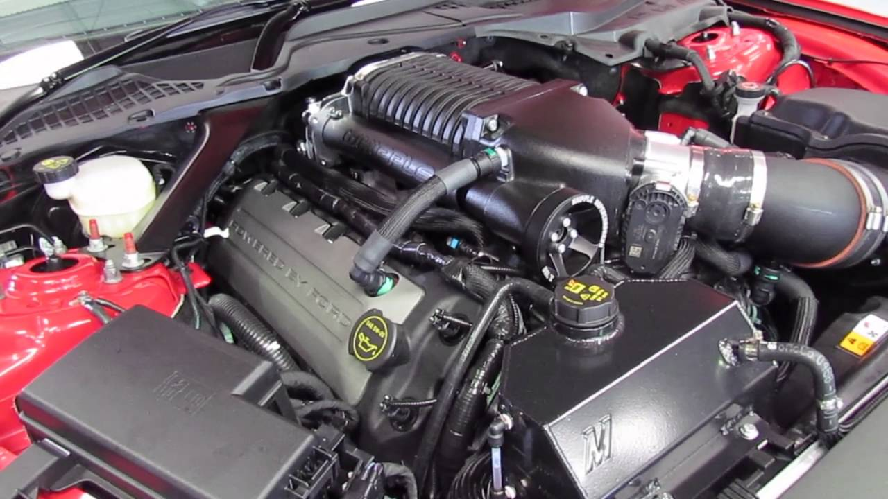 2017 Ford Mustang Gt Premium >> 2.9 whipple supercharged 2016 Mustang GT - YouTube