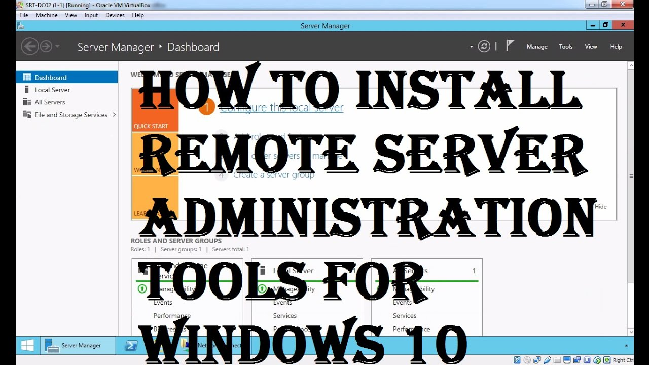 How to Install RSAT on Windows 10 Computer