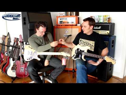 New Fender Deluxe HSH Strat & Thinline Tele Deluxe Guitars